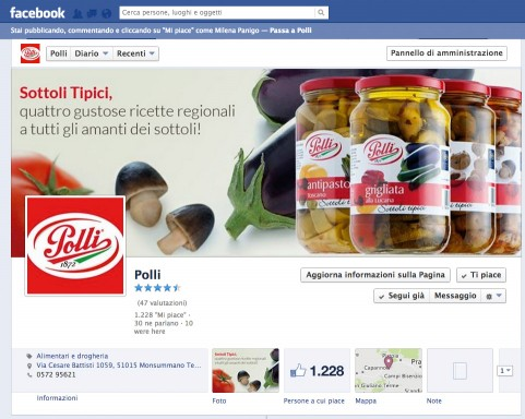 F.lli Polli - Social Network